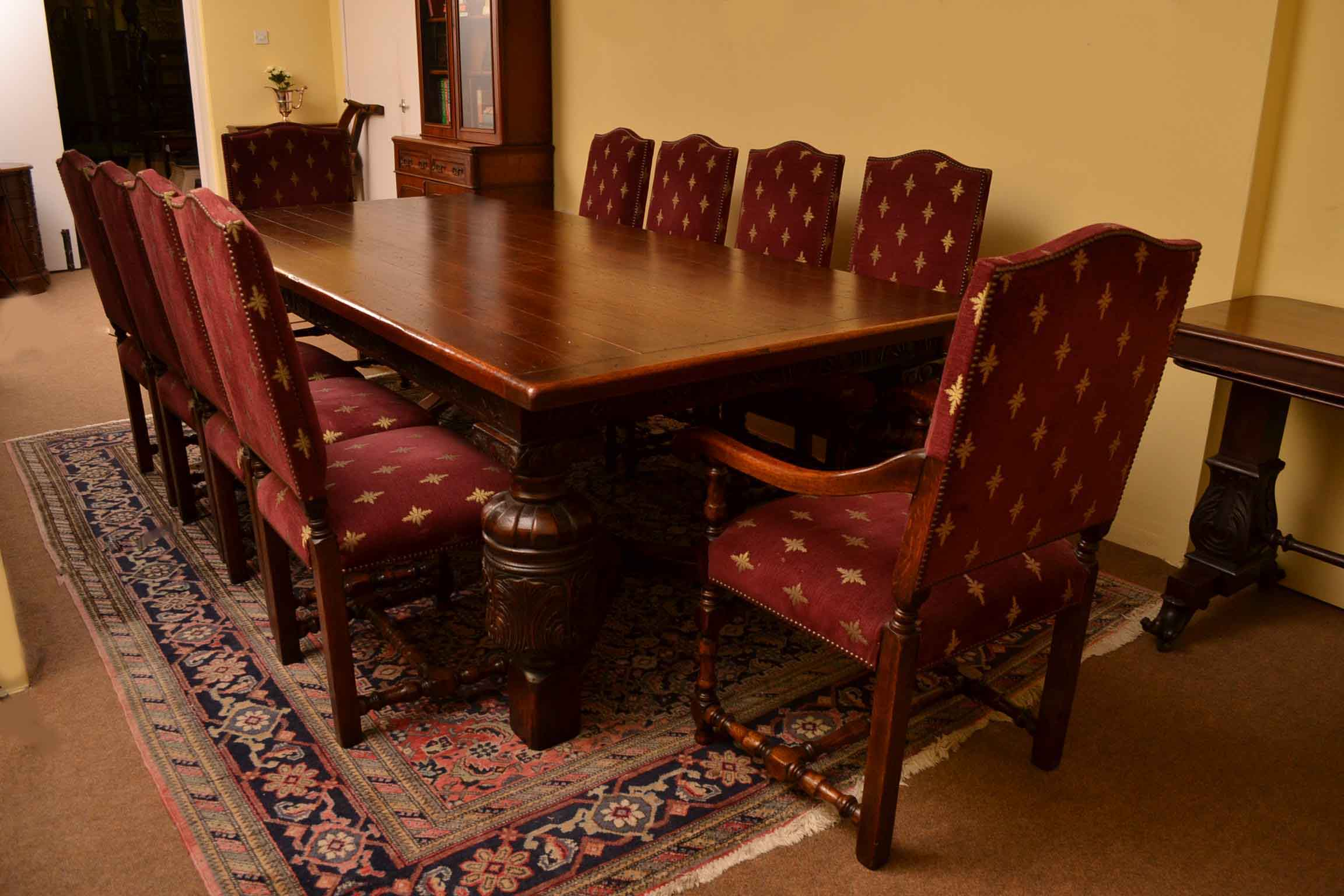 oak dining room suites   Regent Antiques - Dining tables and chairs - Table and ...