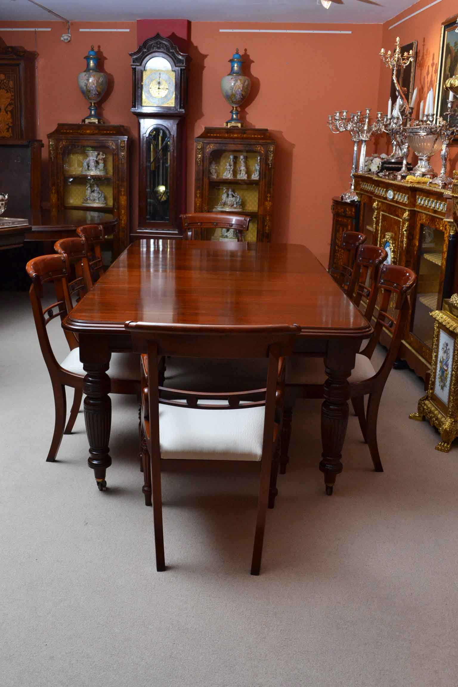 regent antiques dining tables and chairs table and chair sets antique victorian 8ft. Black Bedroom Furniture Sets. Home Design Ideas