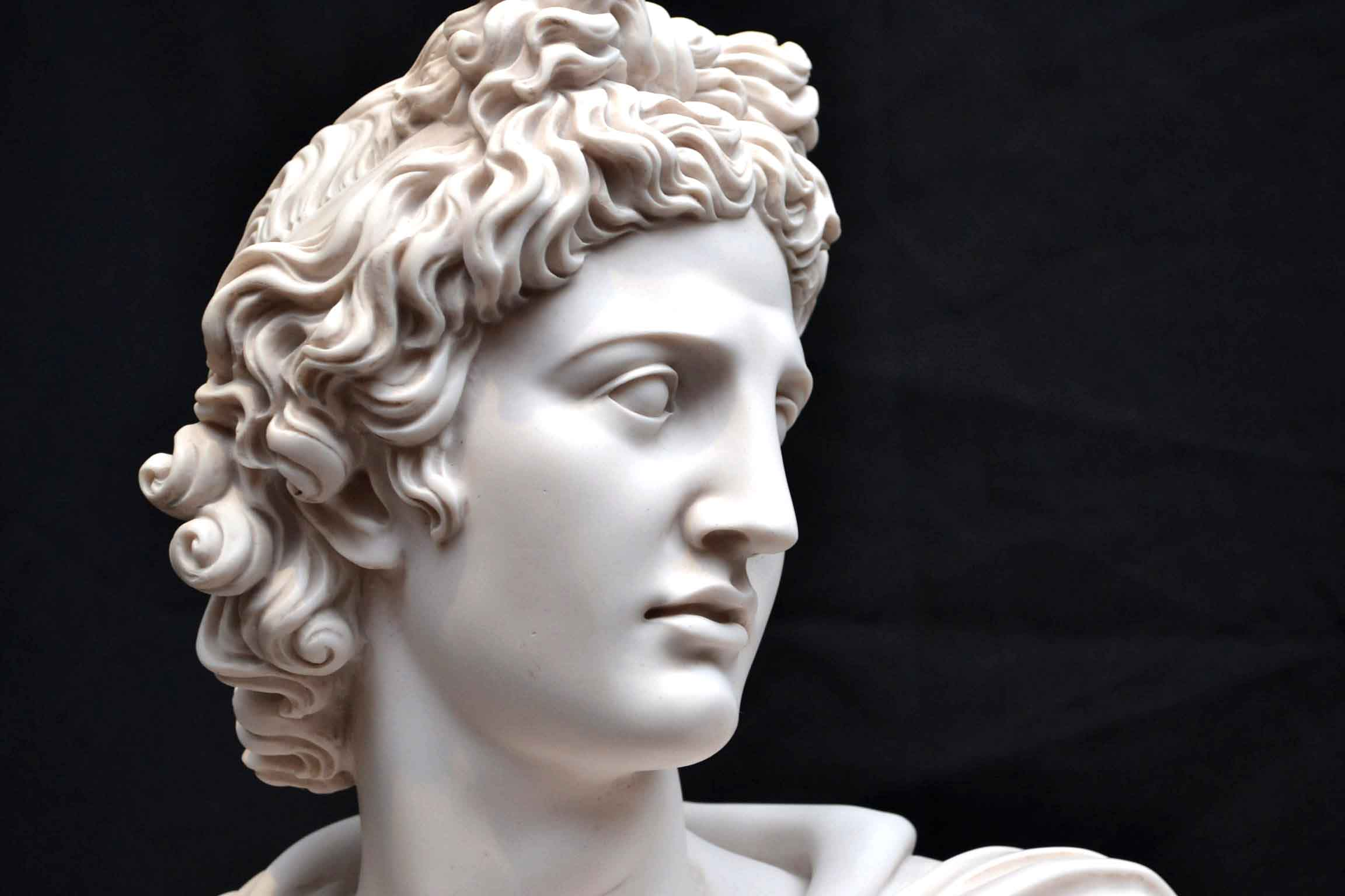 Regent Antiques Marble Stunning Marble Bust Of Greek