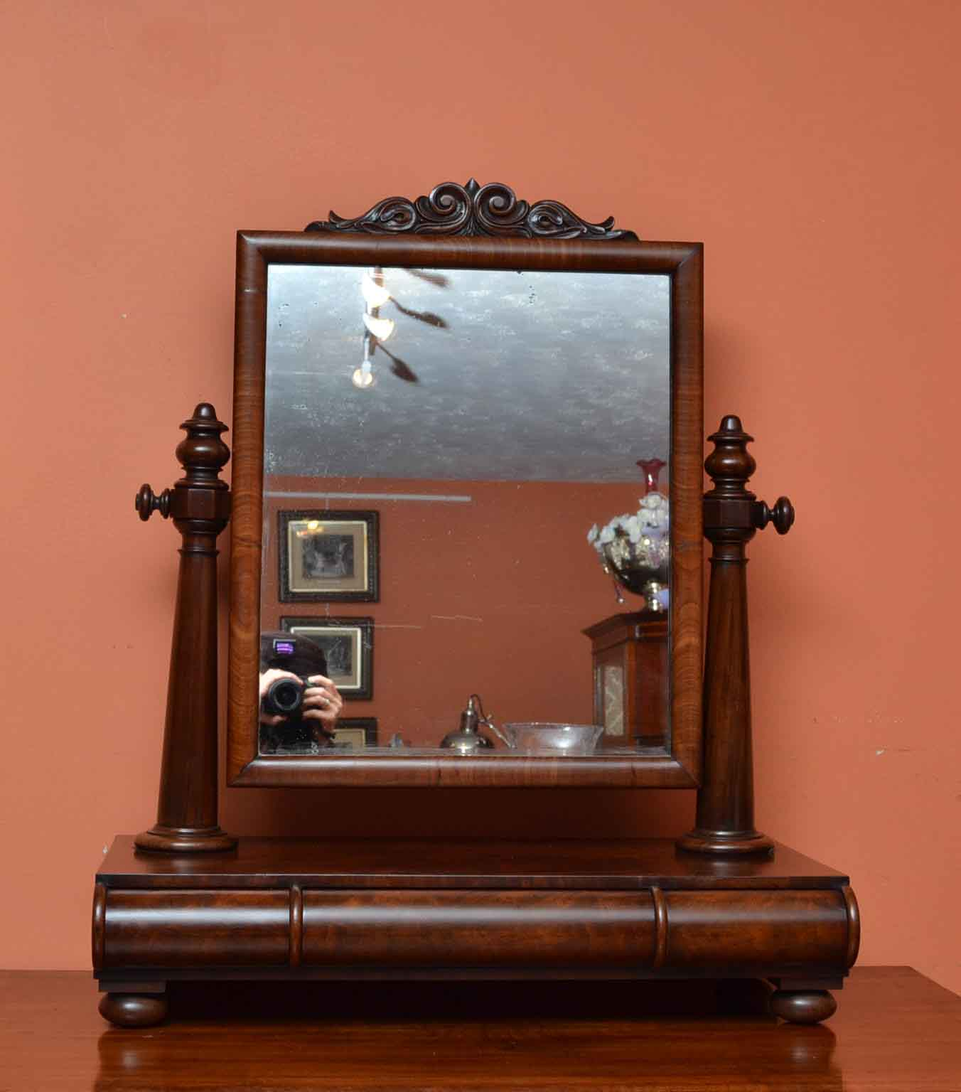 Antique mirrored dressing table - Antique Mirrored Dressing Table 20