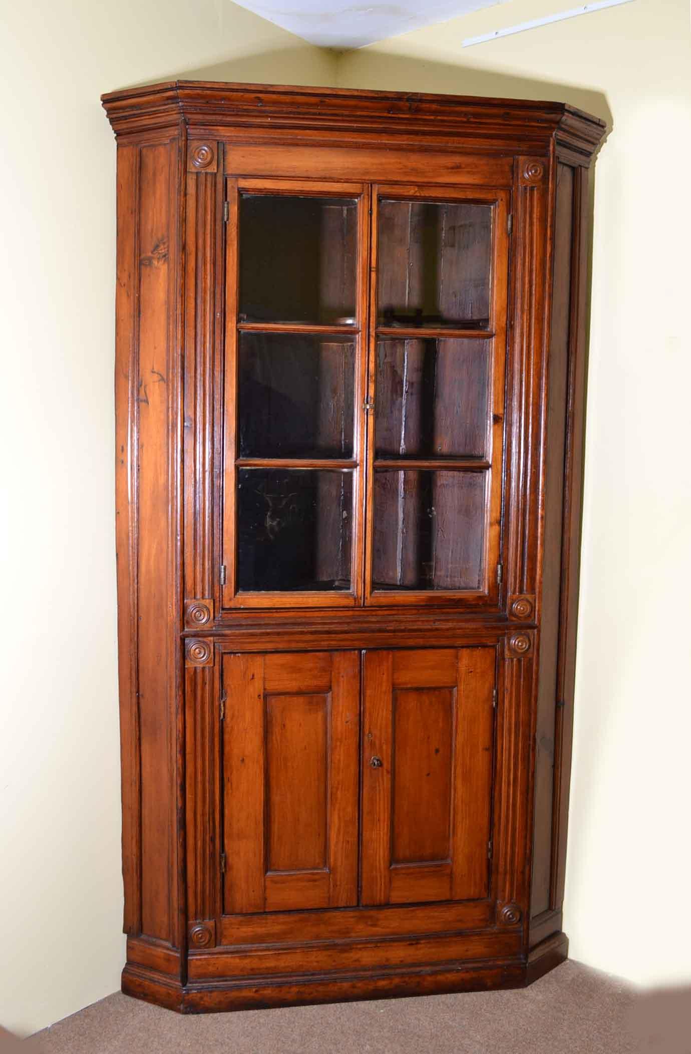 Regent Antiques - Cabinets - Antique English Georgian Pine ...