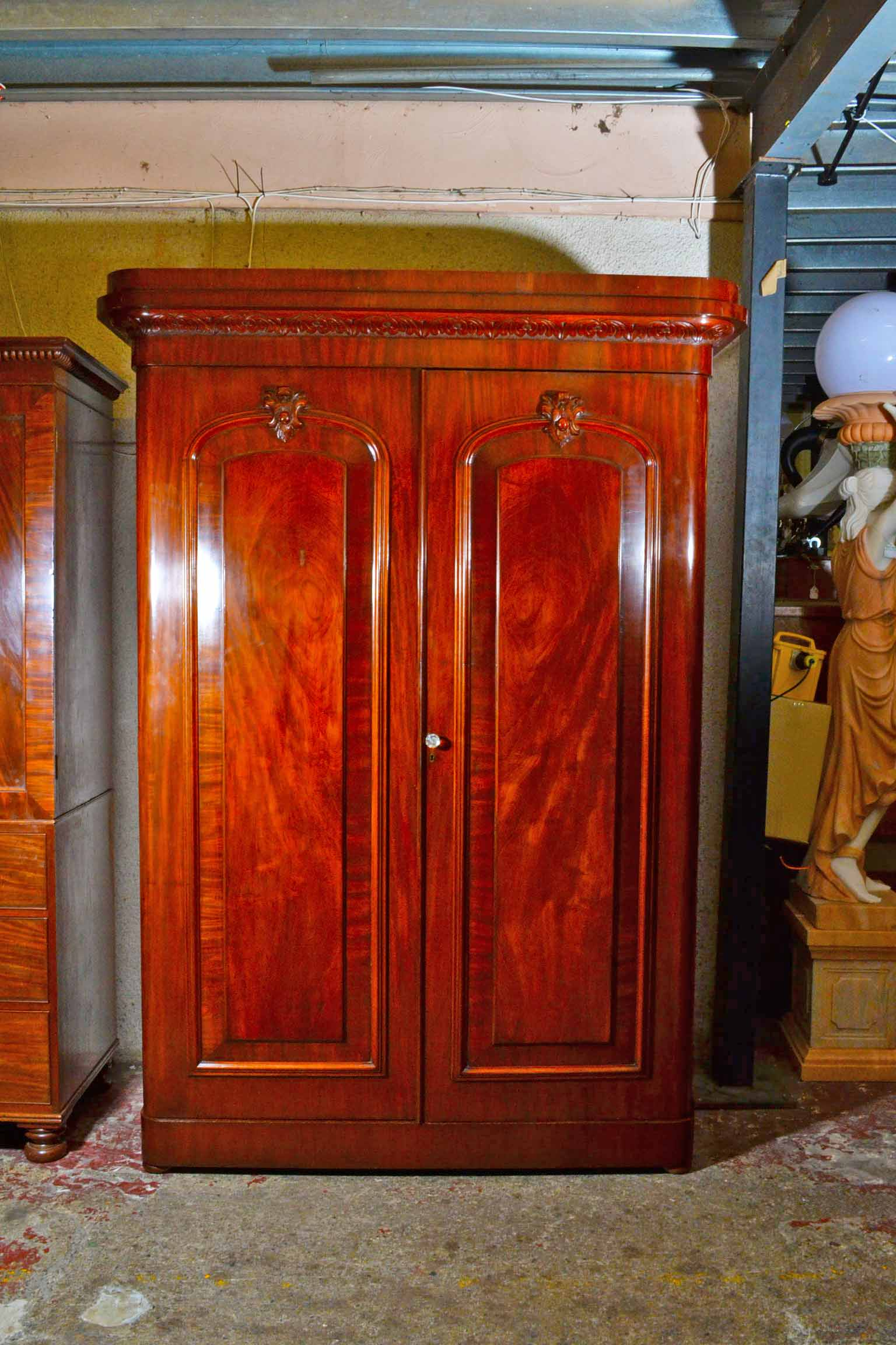 Regent Antiques Bedroom Furniture Wardrobes Antique