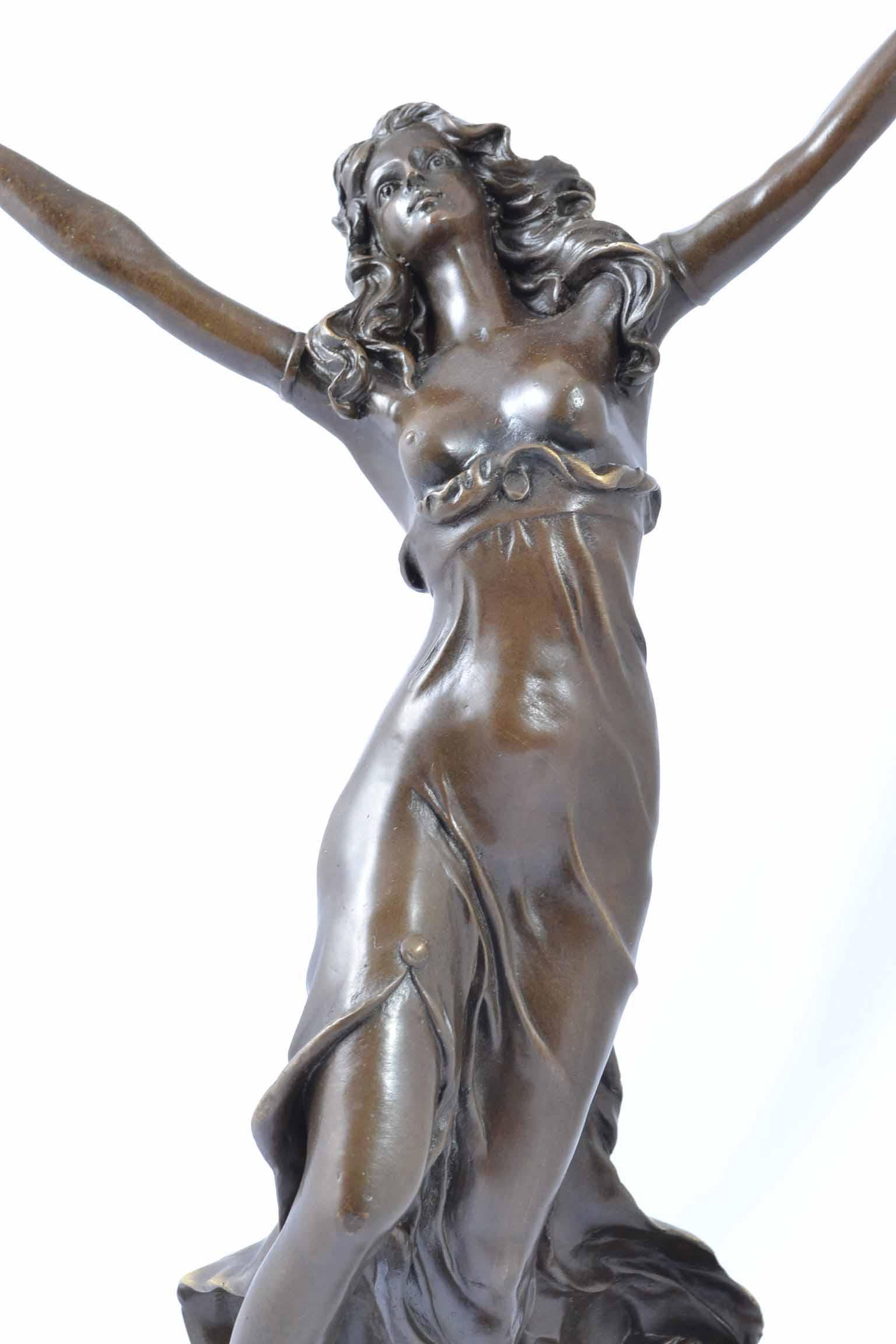 Regent Antiques - Bronzes - Stunning Bronze Tambourine ...