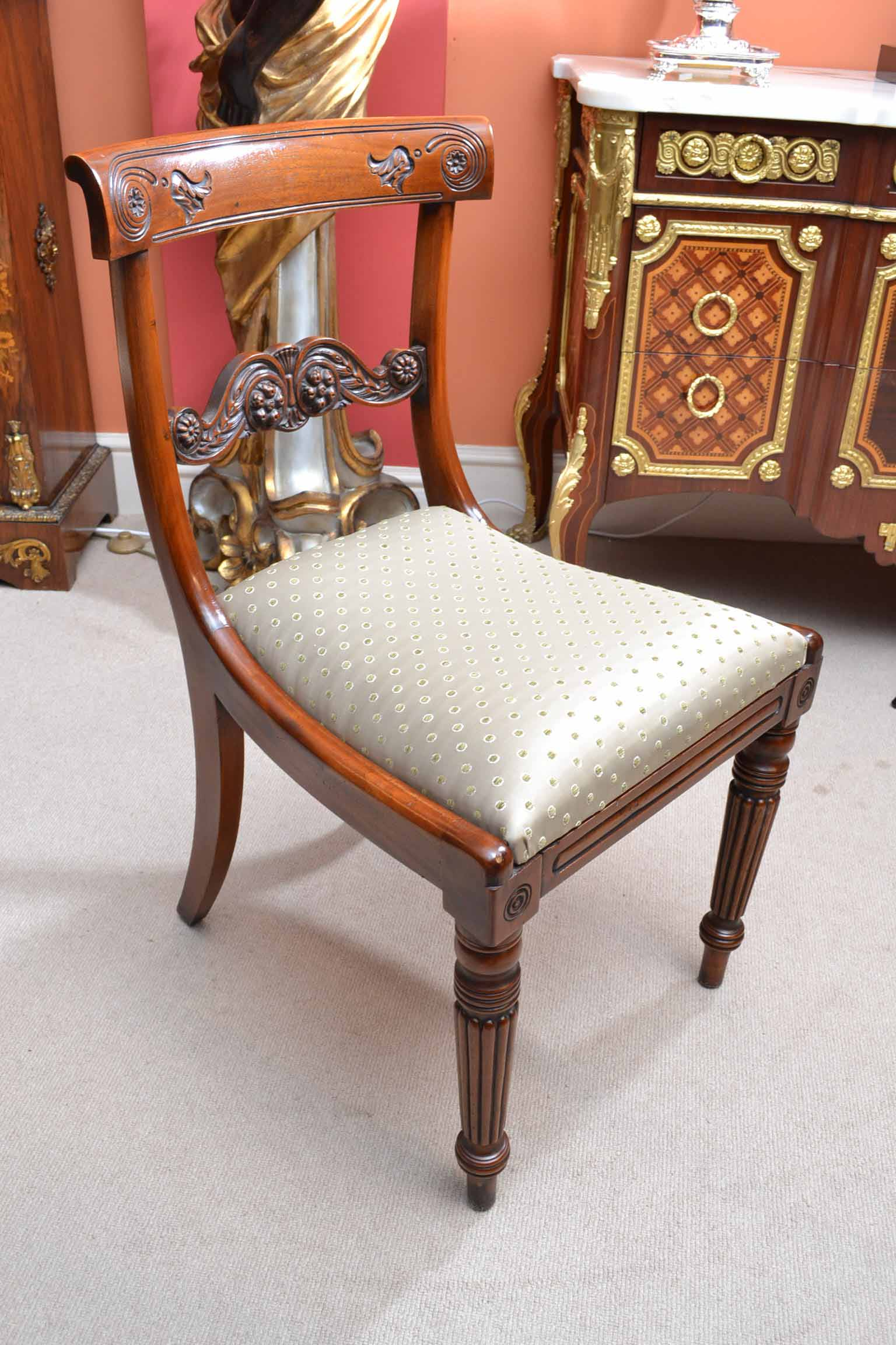 Regent Antiques Dining Tables And Chairs Dining Chairs Grand Set 18 English Regency Dining