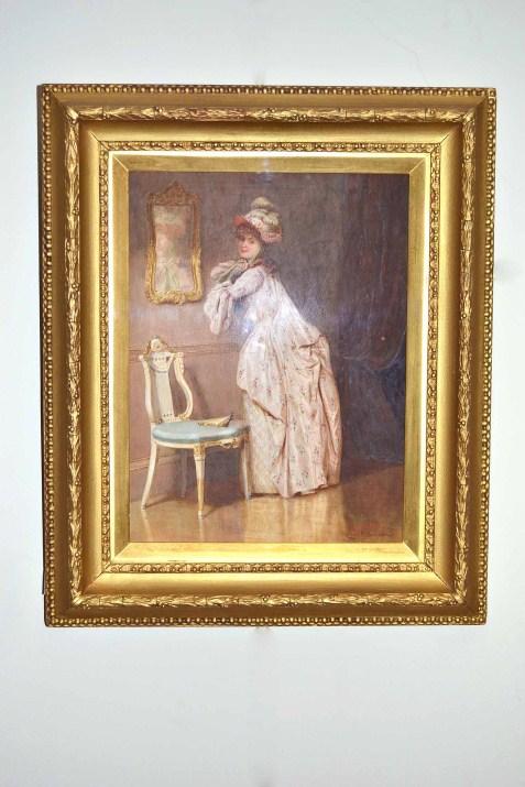 Antique Watercolour By Ref No 04377 Regent Antiques
