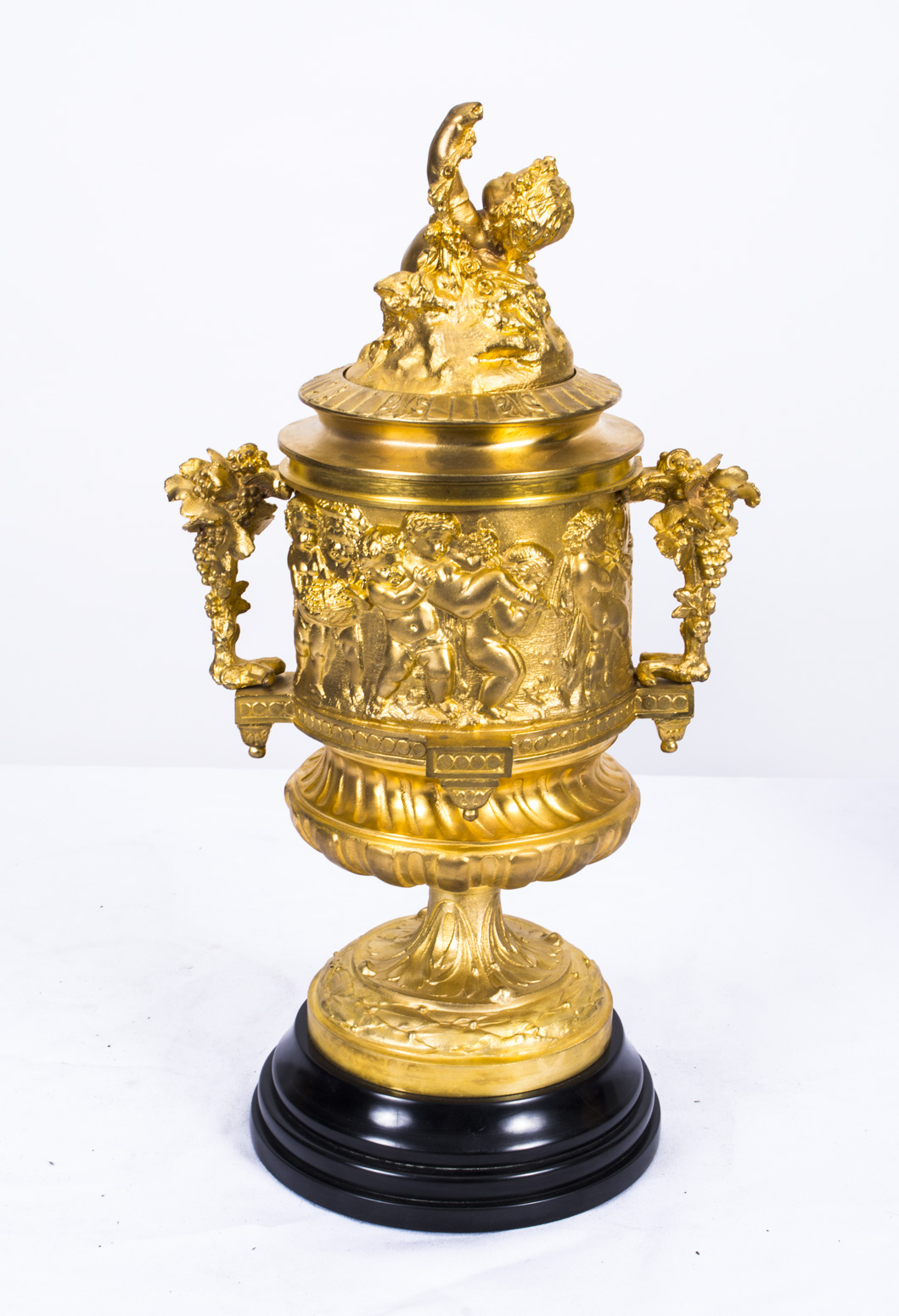 Regent Antiques Bronzes Stunning Gilded Bronze Cherub