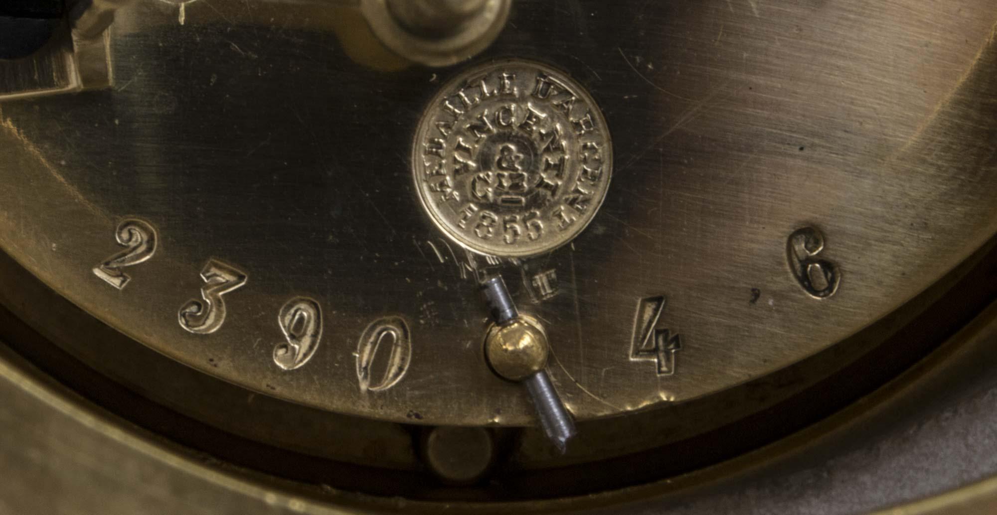 Regent Antiques Clocks Antique French White Marble