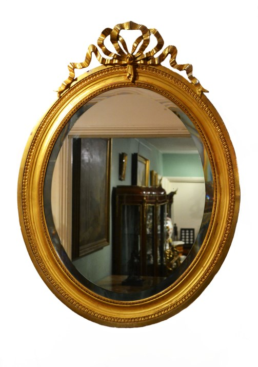 Regent Antiques Mirrors Antique Victorian Oval Gilded
