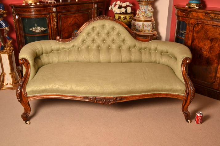 Regent antiques sofas and stools antique victorian for Victorian sofa
