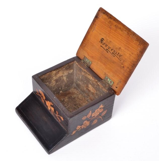 Sorrento Inlaid Wood Coffee Table