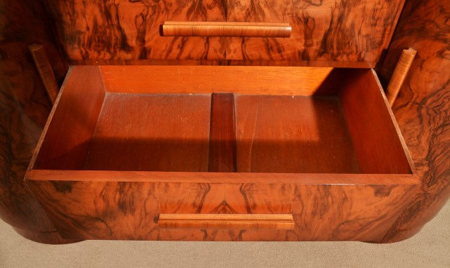 Regent Antiques Cabinets Antique Art Deco Walnut