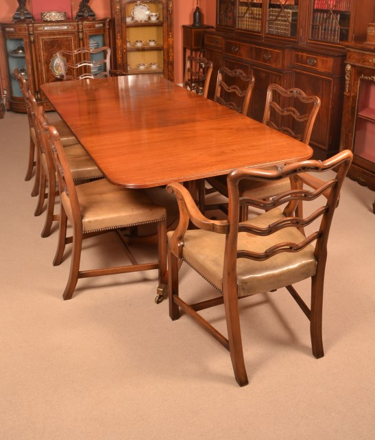 Vintage Dining Table William Tillman 8 Chairs Harrods
