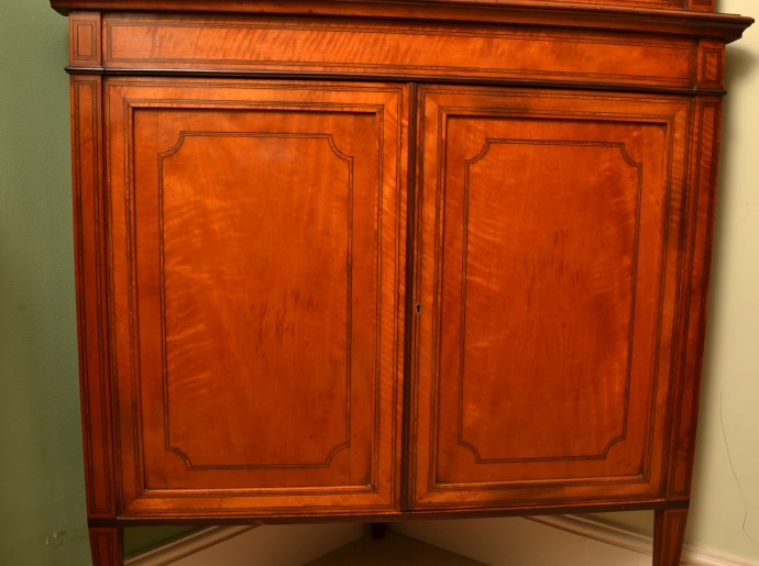 Regent antiques display cabinets antique english for 1890 kitchen cabinets