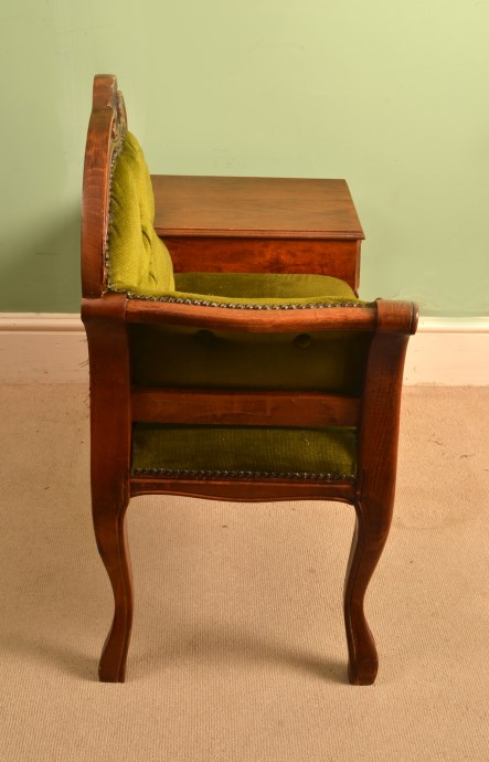 vintage telephone occasional table armchair
