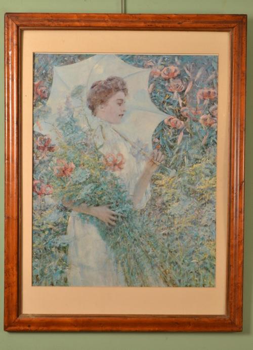 Antique Watercolour Copy Ref No 05560a Regent Antiques