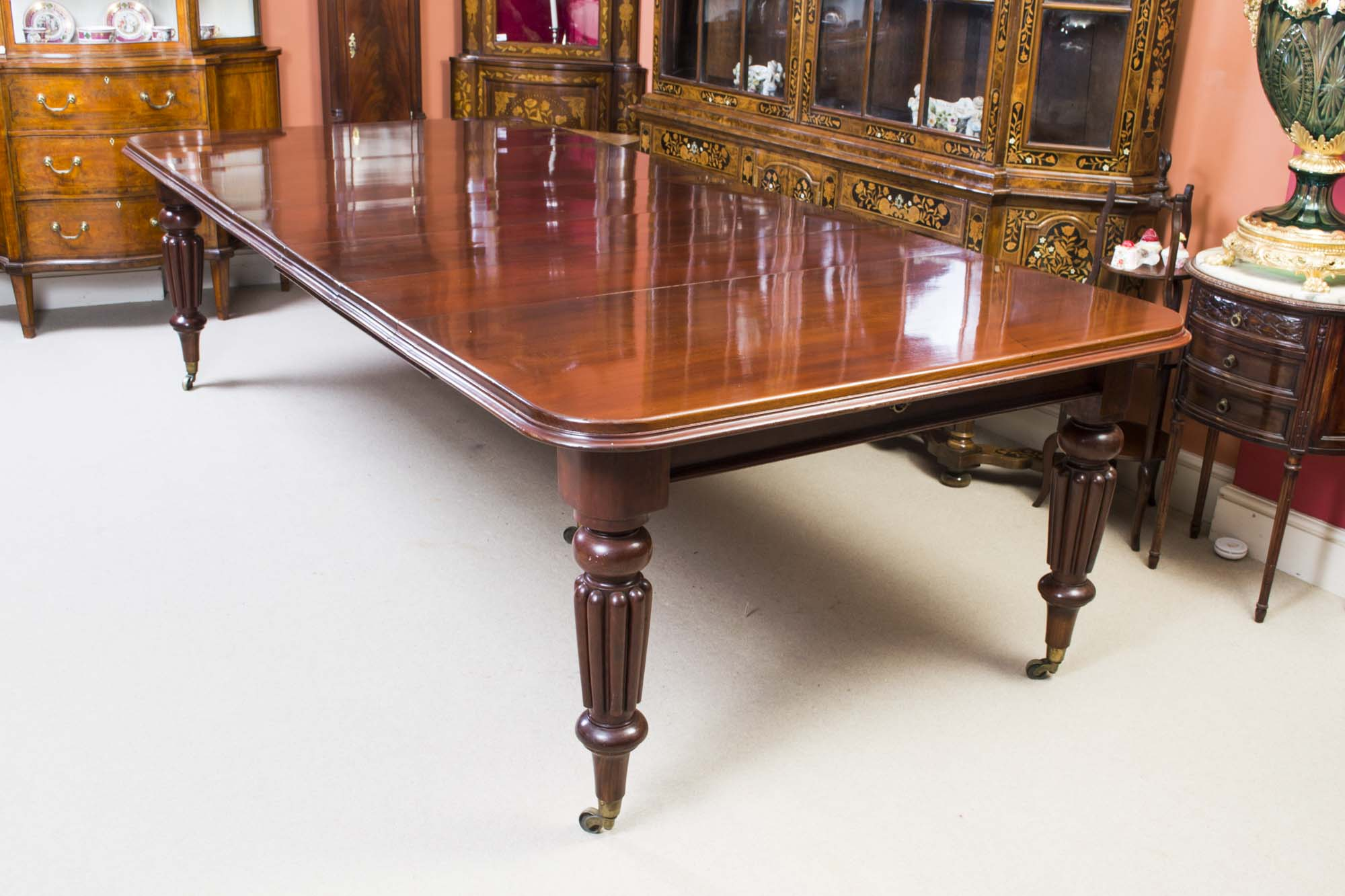 Regent antiques dining tables and chairs table and for 10ft dining table