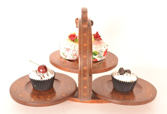 Image Result For Mahogany Tier Vintage Cake Stand