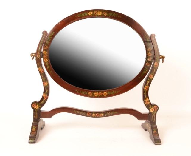 Regent Antiques Mirrors Antique Hand Painted Dressing  : 05618 Antique Hand Painted Dressing Table Mirror c1900 1 from regentantiques.com size 641 x 523 jpeg 37kB