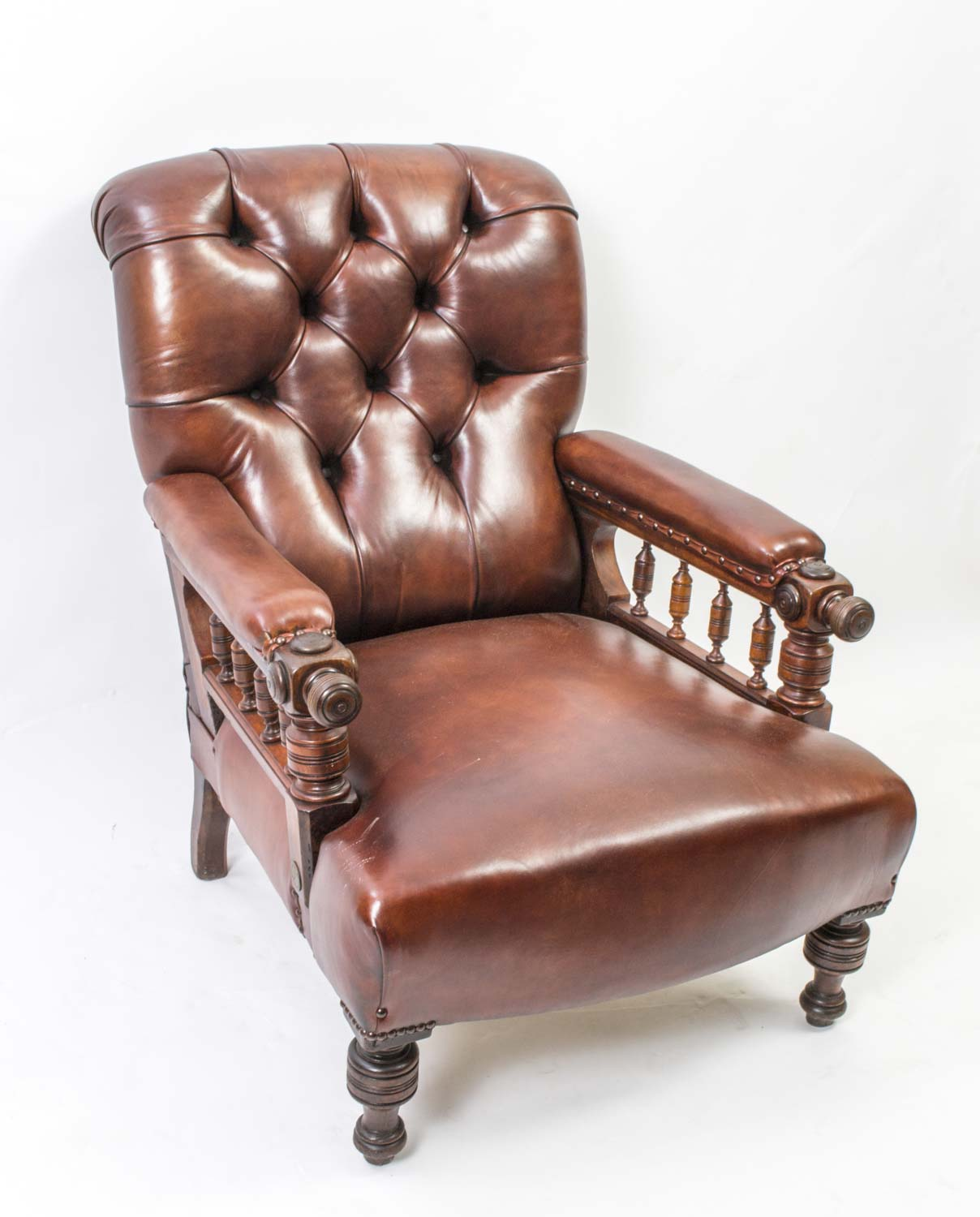 Antique victorian armchair - Antique Victorian Armchair 38