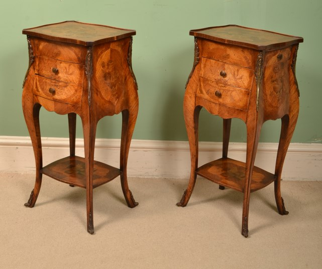 Regent Antiques Bedside Cabinets Antique Pair French