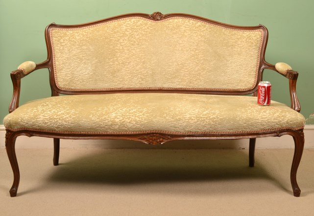 Regent Antiques Sofas And Stools Antique French Walnut Sofa Settee C1900