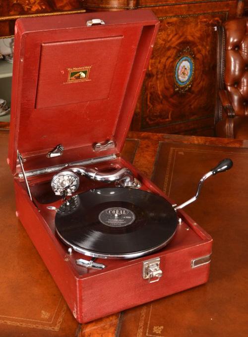 Vintage Portable Hmv Ref No 05758 Regent Antiques