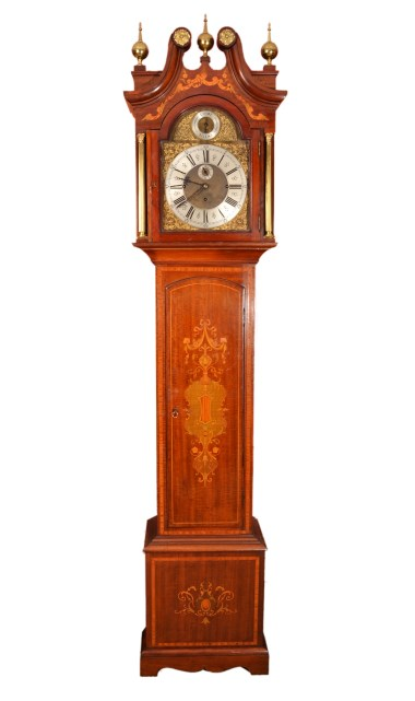 Regent Antiques Clocks Antique Inlaid Grandfather