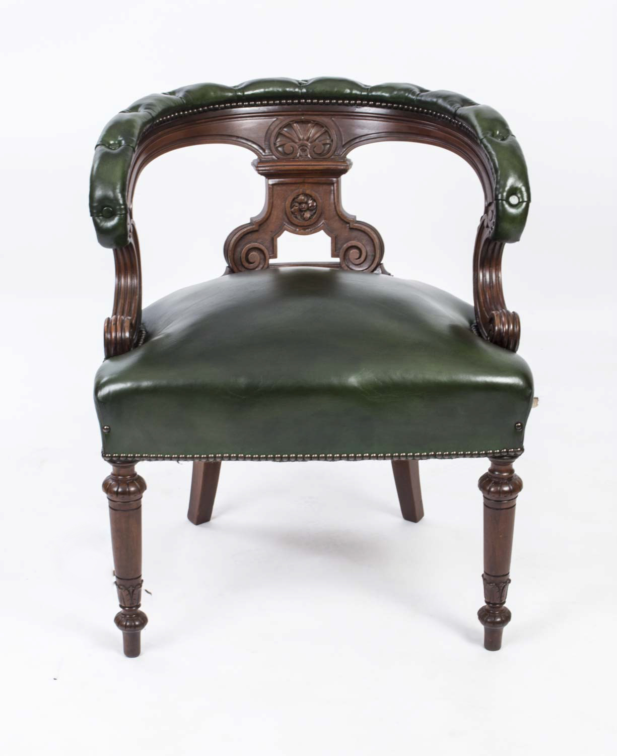 Regent antiques armchairs and desk chairs