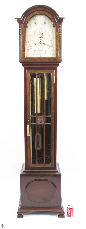 Regent Antiques Clocks Antique English 9 tube Musical  : 06136 Antique English 9 tube Musical Grandfather Clock C1880 23 from regentantiques.com size 564 x 1500 jpeg 71kB