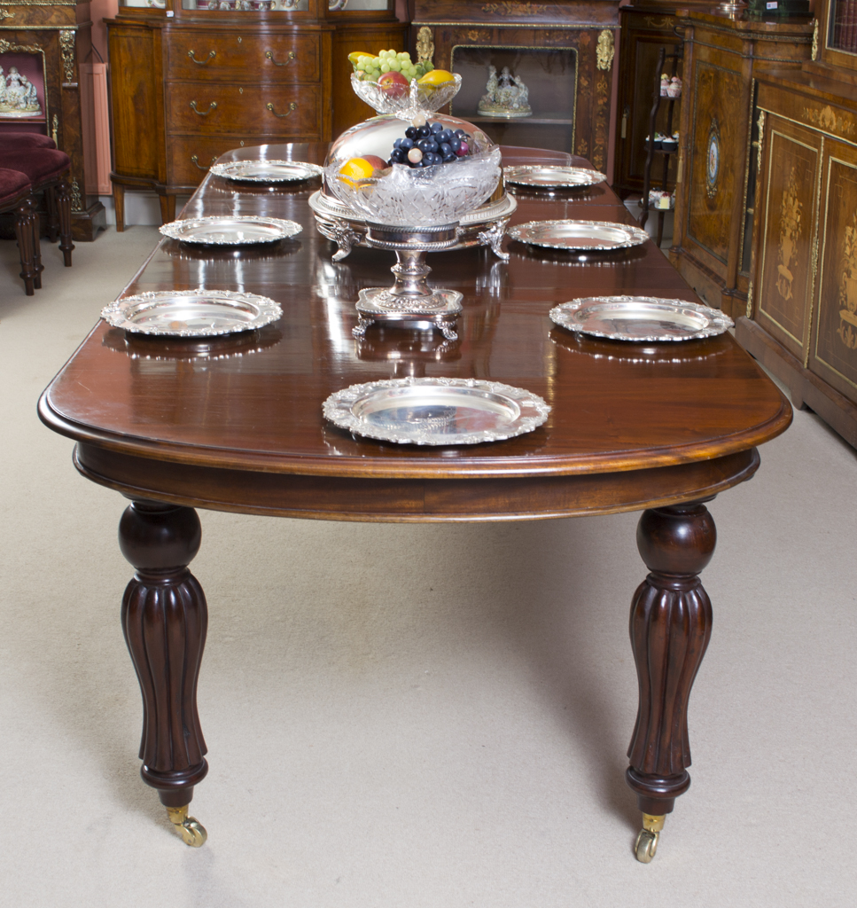 Victorian Dining Table: Dining Tables And Chairs
