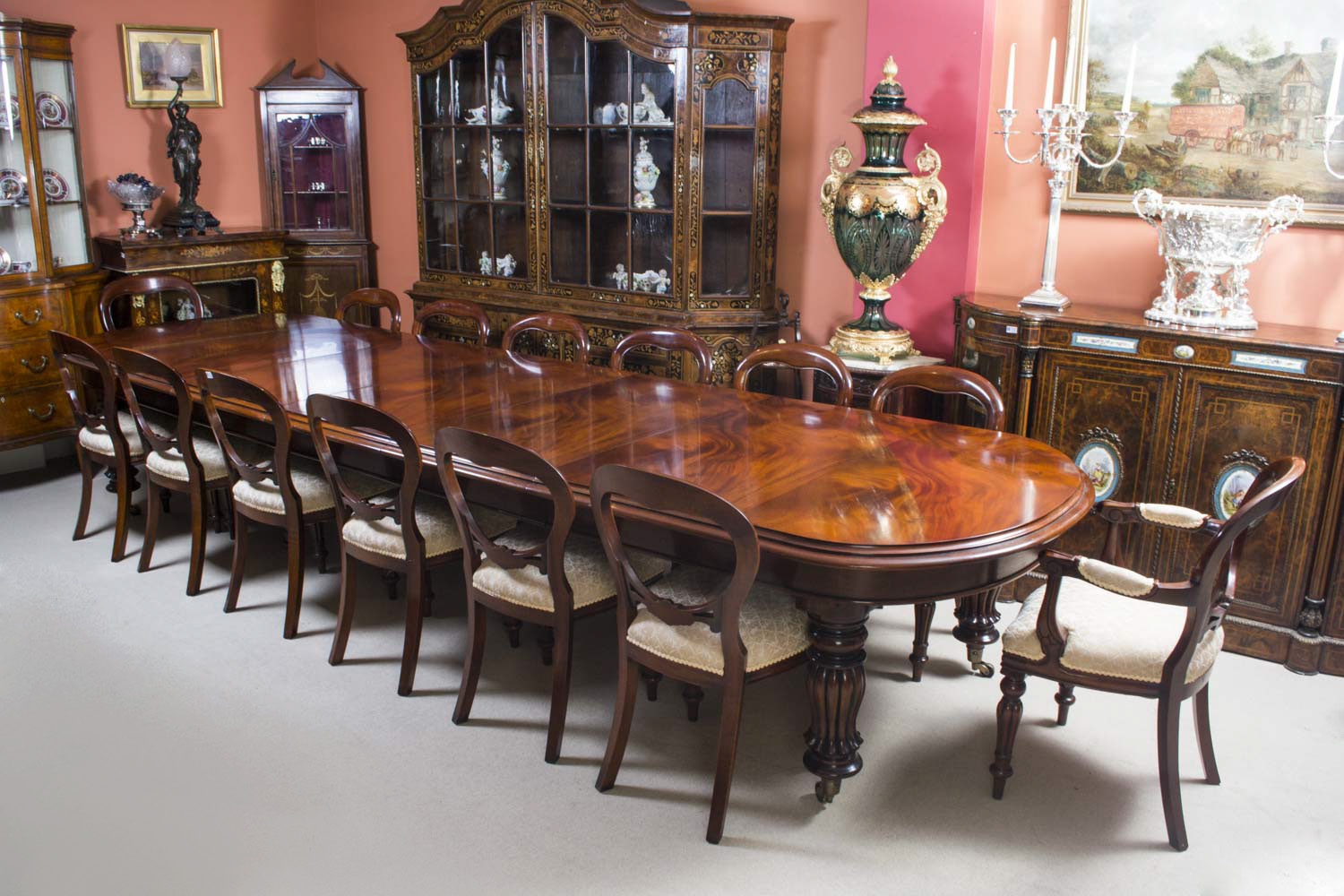 regent antiques dining tables and chairs tables vintage 14ft