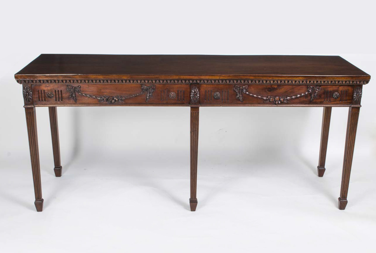 regent antiques console tables antique hepplewhite style mahogany console table. Black Bedroom Furniture Sets. Home Design Ideas