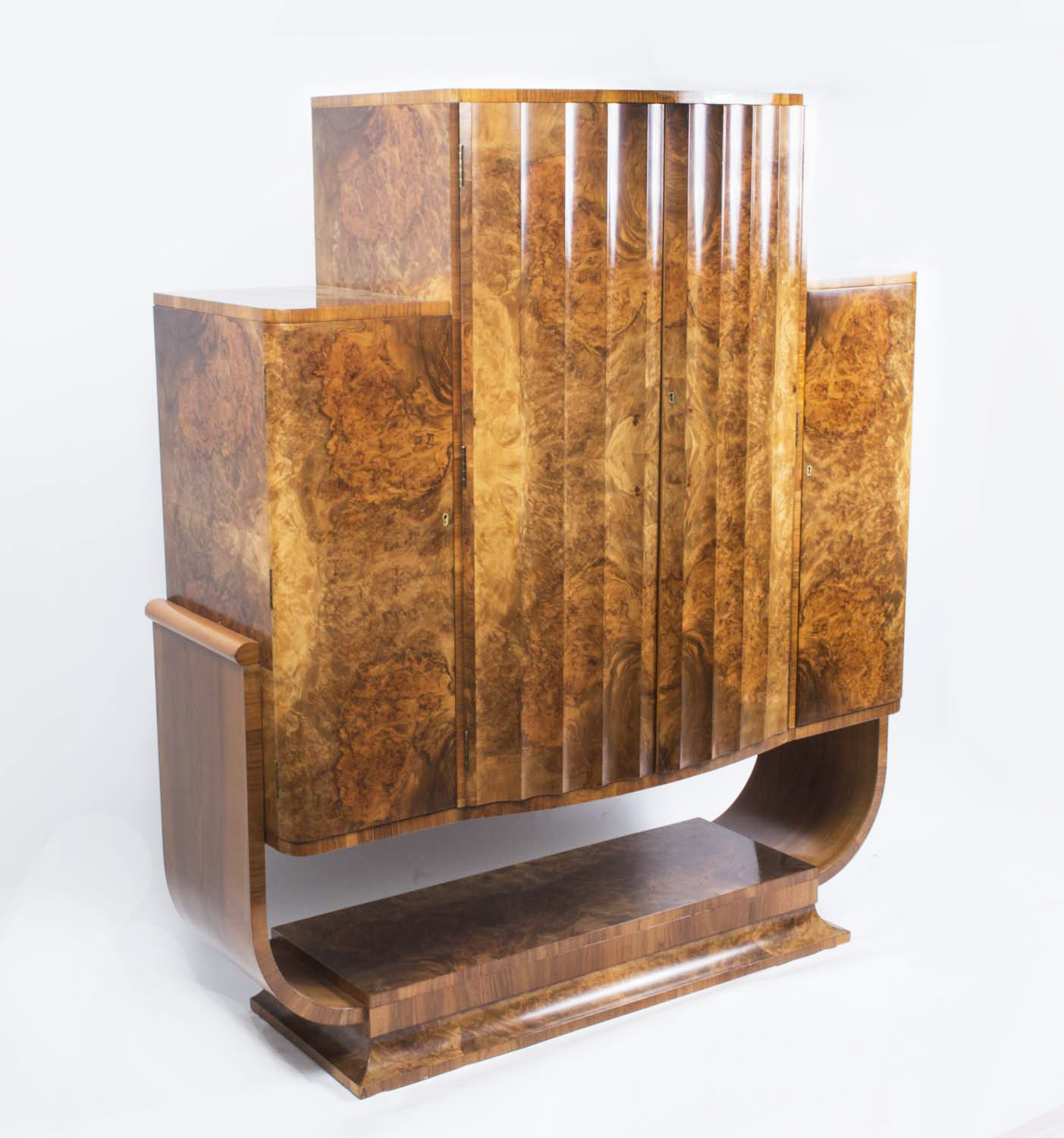 Regent Antiques Cabinets Antique Art Deco Burr Walnut