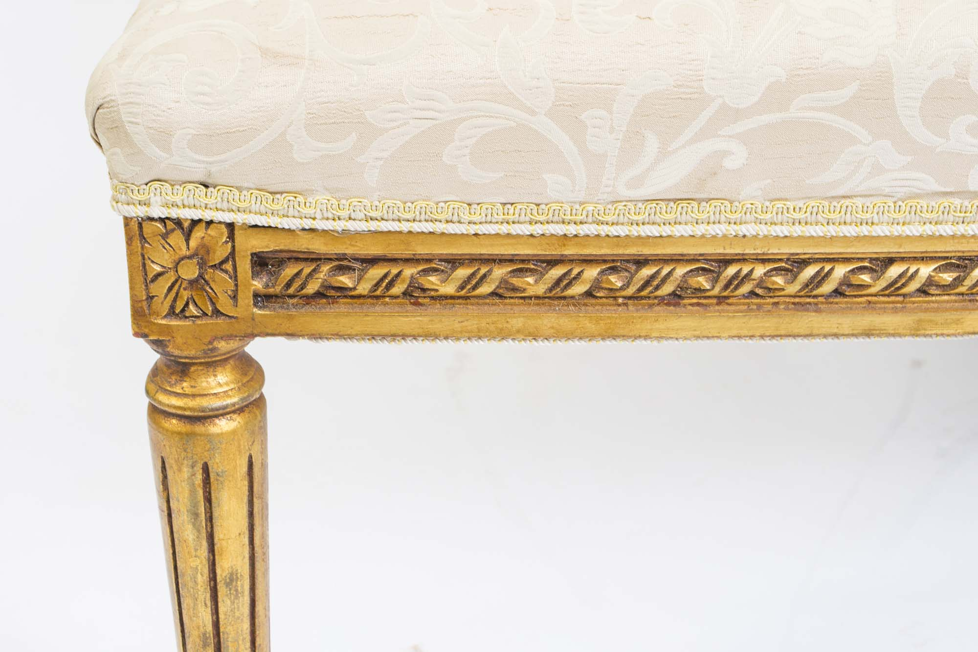 Regent antiques sofas and stools stunning louis xvi for Chaise louis xvi