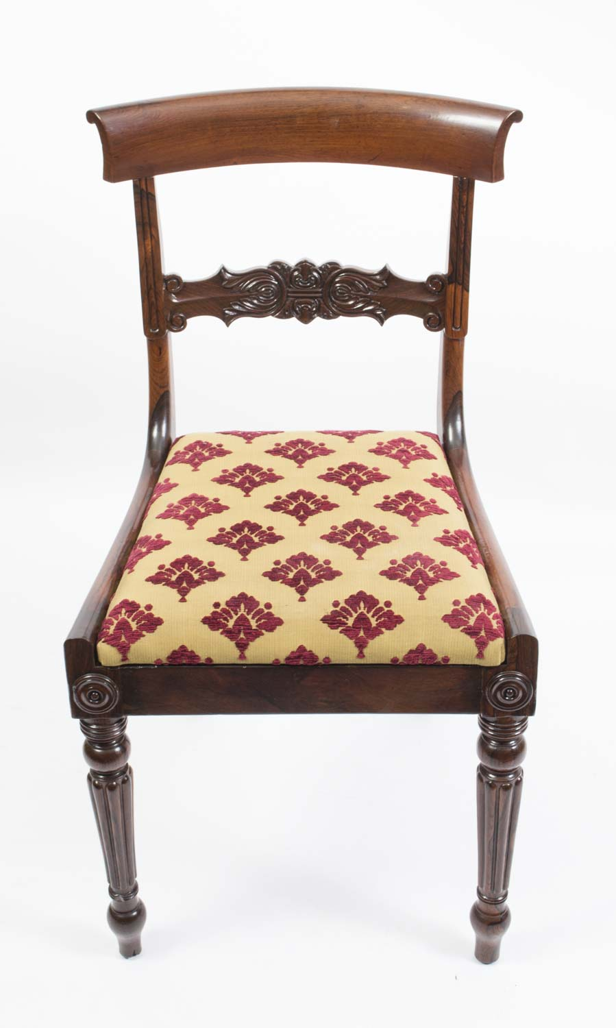 Regent Antiques Dining tables and chairs Dining chairs  : 06383 Antique Set 6 William IV Rosewood Dining Chairs c1835 18 from regentantiques.com size 899 x 1500 jpeg 111kB