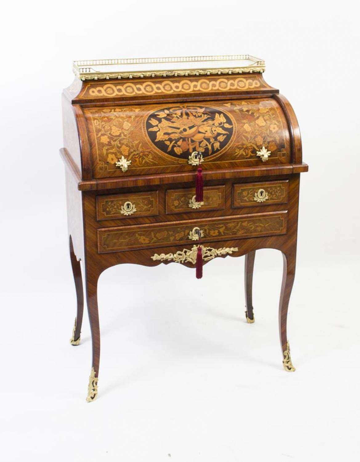 Regent antiques desks and writing tables antique for Bureau louis xv