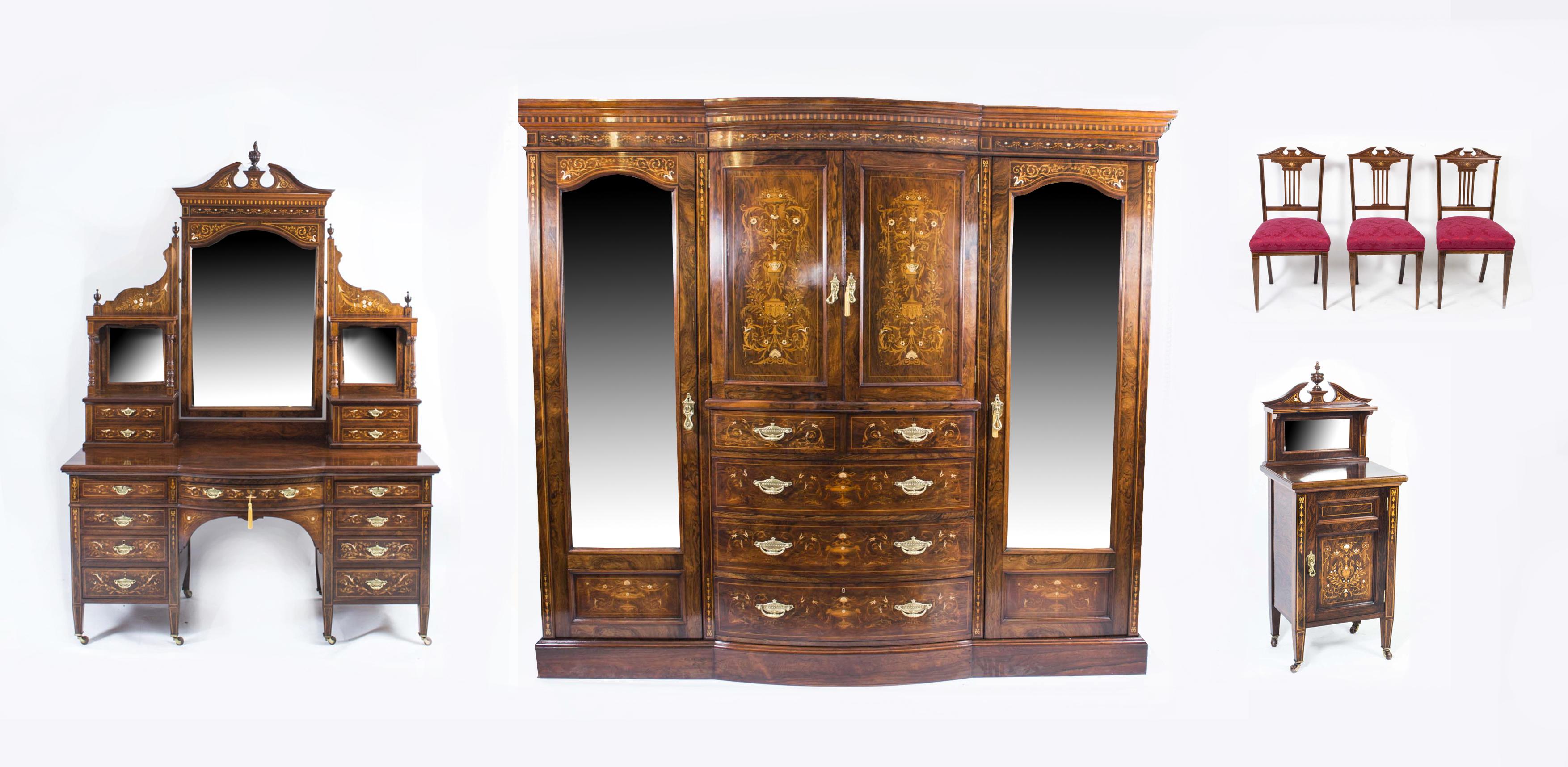 Regent Antiques Bedroom Furniture Wardrobes Antique Victorian Bedroom S