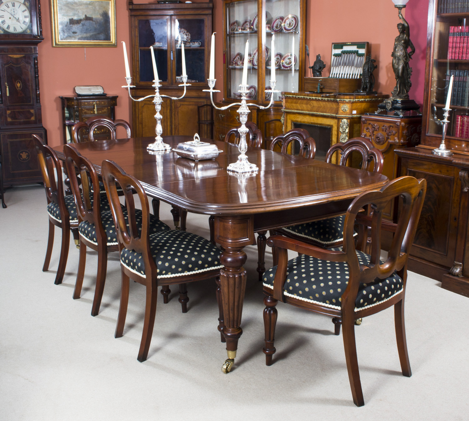 regent antiques dining tables and chairs table and chair sets antique victorian dining. Black Bedroom Furniture Sets. Home Design Ideas