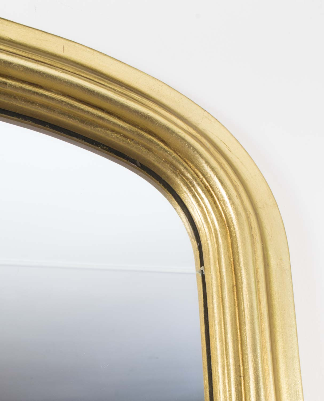 Regent antiques mirrors elegant giltwood overmantle mirror for Overmantle mirror