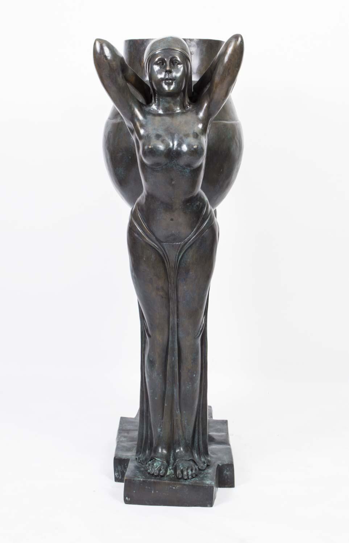 Regent Antiques Bronzes Stunning Art Deco Bronze Biba