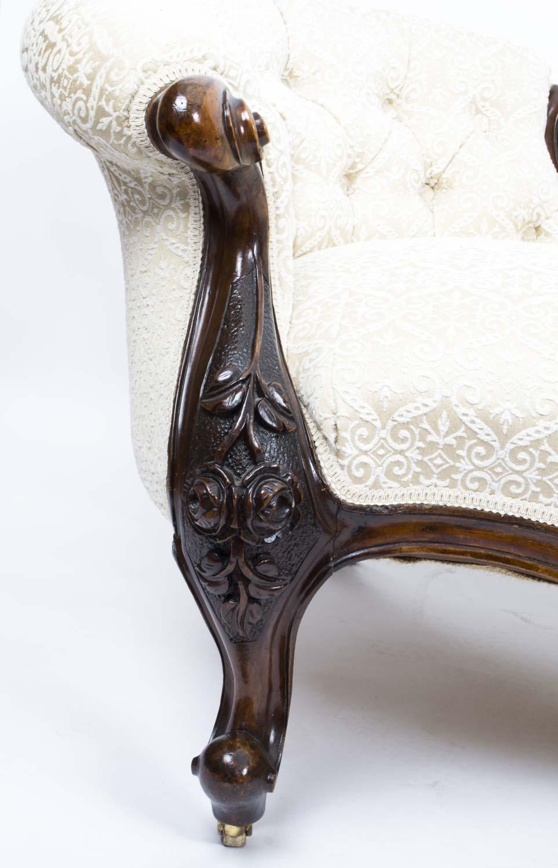 Regent antiques sofas and stools antique pair for Antique victorian chaise