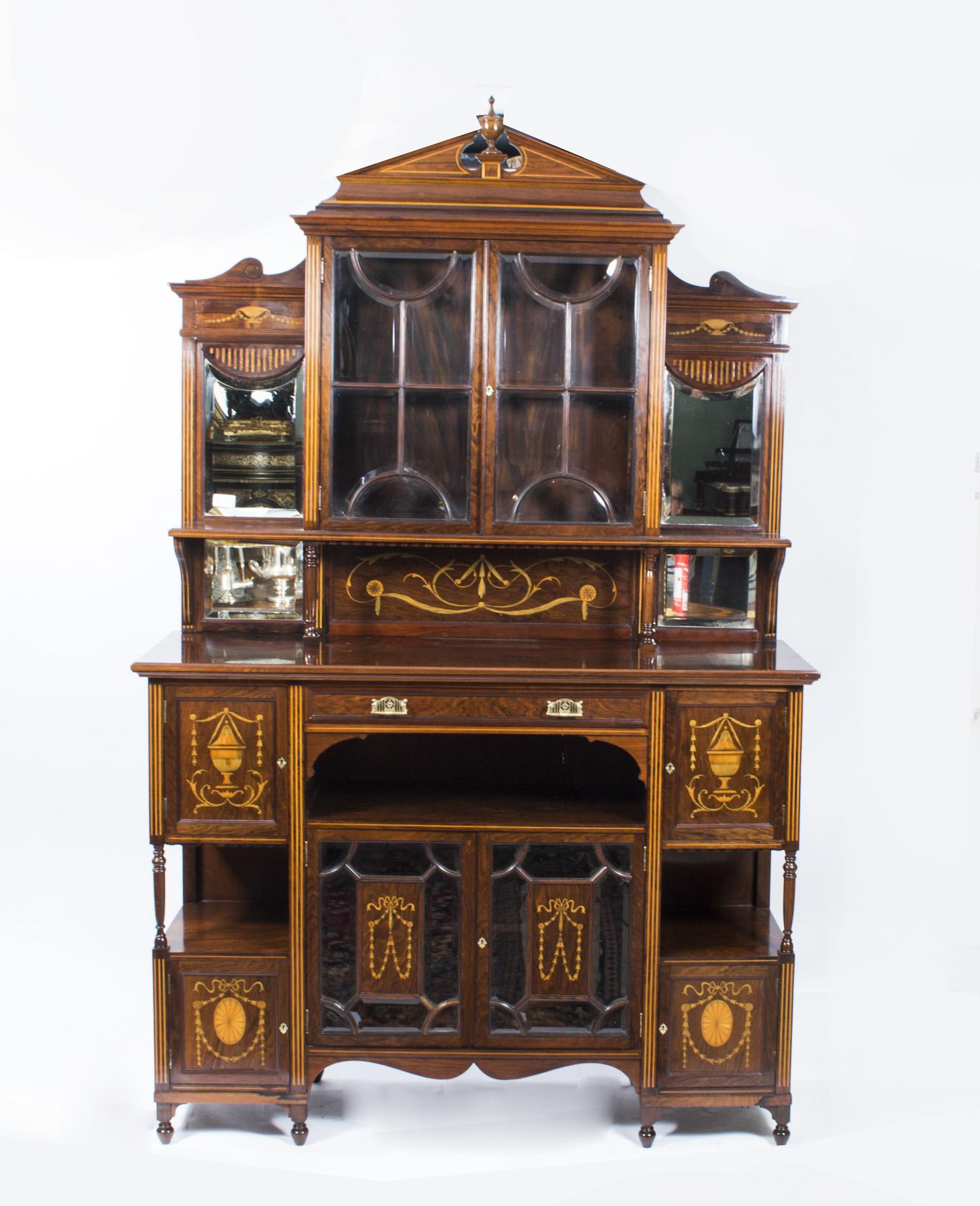 Regent Antiques - Display cabinets - Antique Edwardian ...