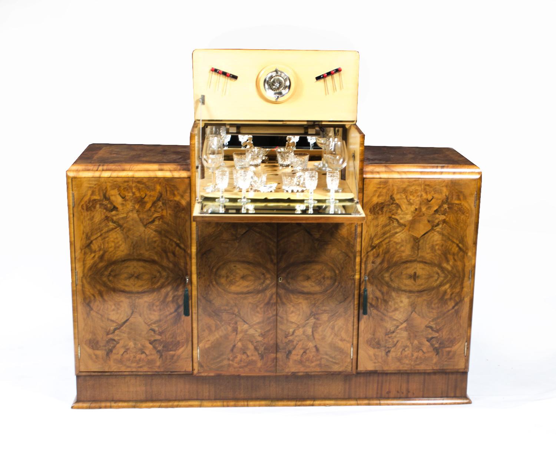 Antique Art Deco Walnut Ref No 06906c Regent Antiques