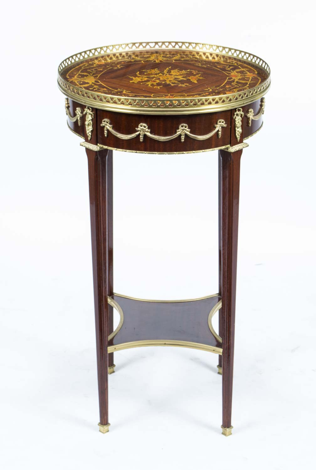 Regent antiques occasional and side tables pair