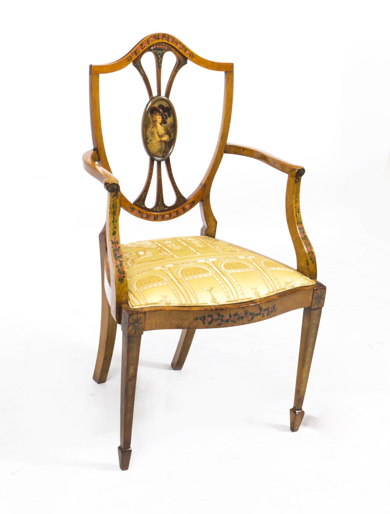 Thomas sheraton chair - Thomas Sheraton Chair 19