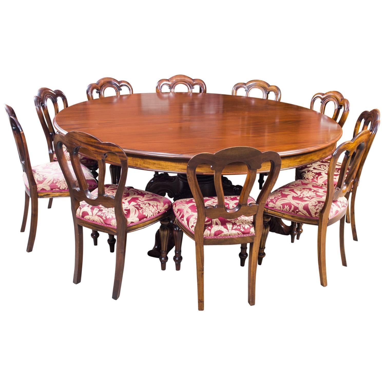 Dining Table 10: Vintage 2 Metre Diam