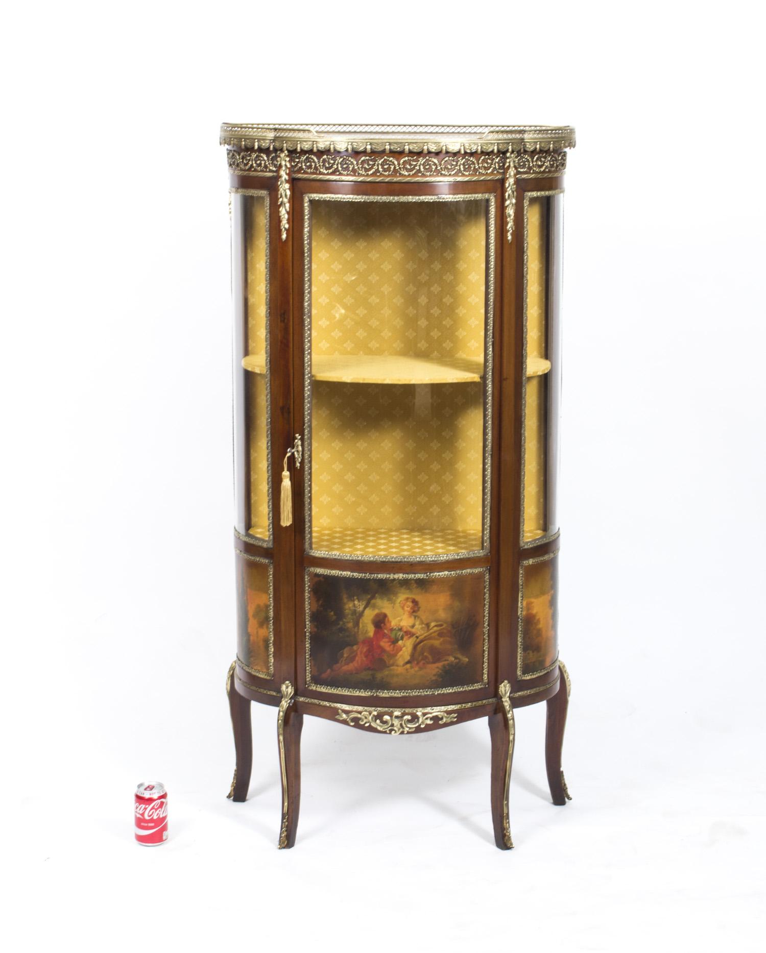 regent antiques display cabinets antique french vernis martin cabinet vitrine. Black Bedroom Furniture Sets. Home Design Ideas