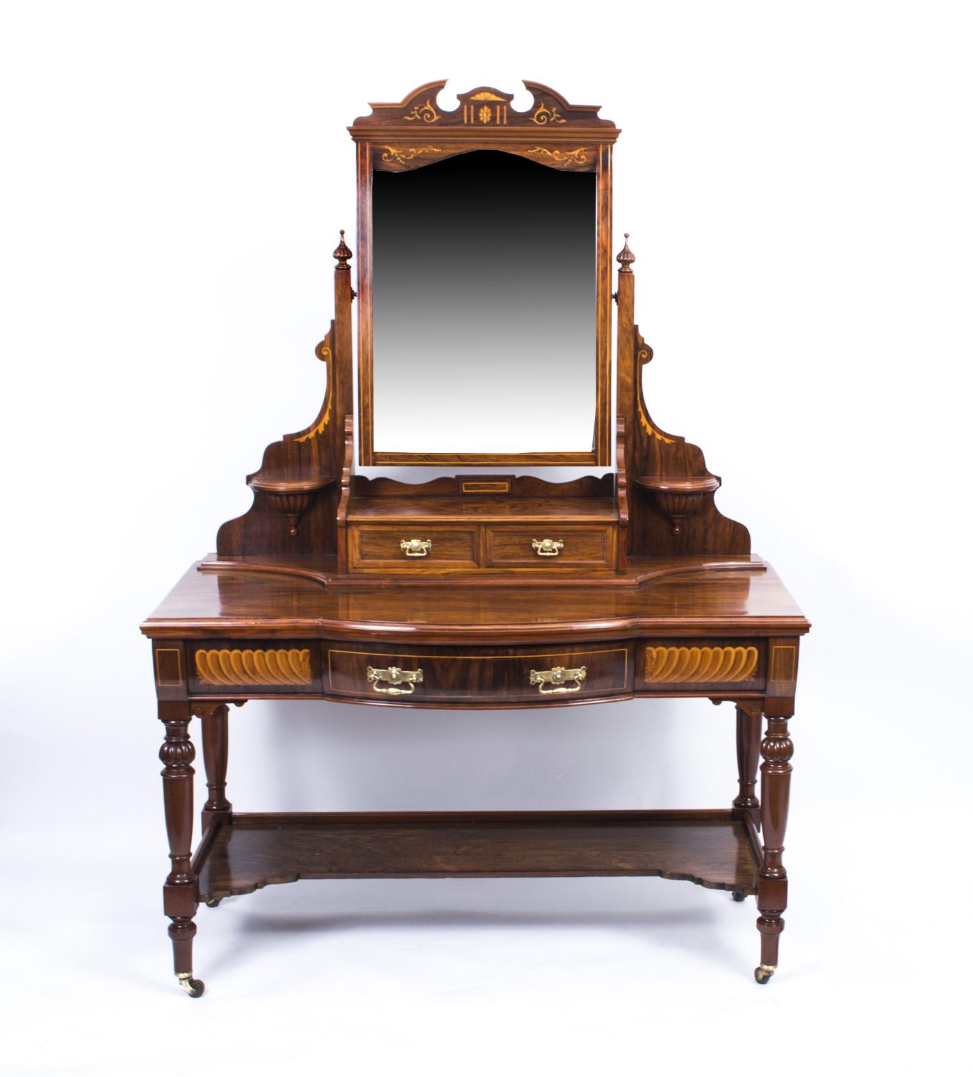 Antique Victorian Inlaid Ref No 07191 Regent Antiques