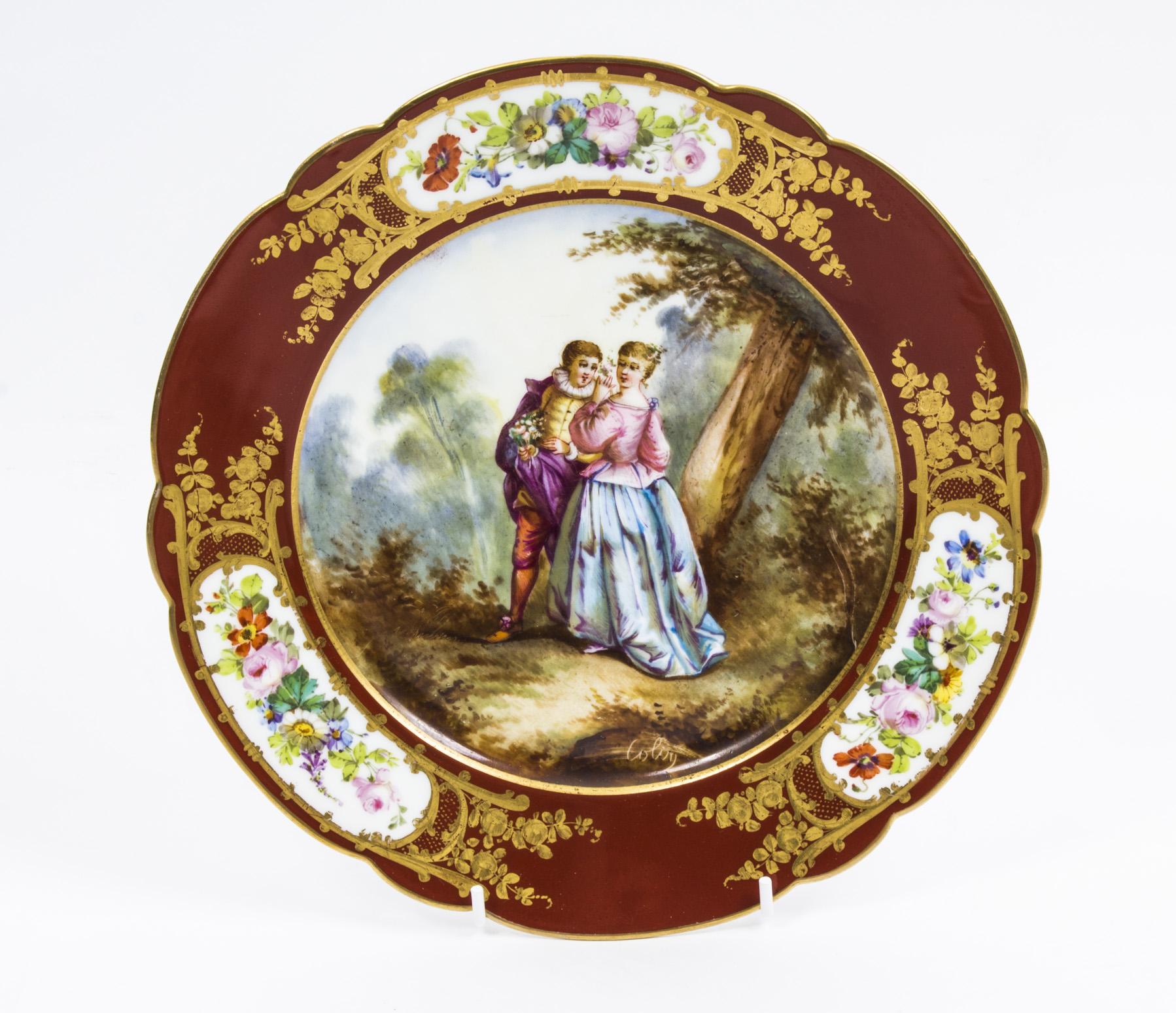 Antique Sevres Porcelain Ref No 07664 Regent Antiques