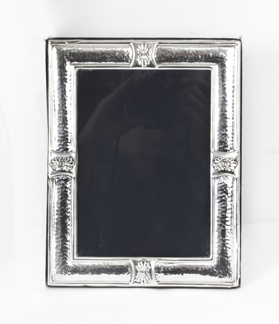 Vintage Classical Style Sterling Silver Frame By Comyns Ref No 07851